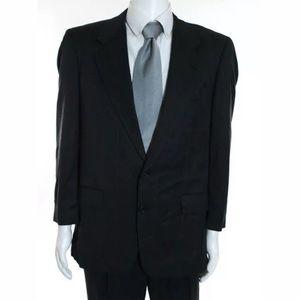 Hickey Freeman Suits & Blazers - Hickey Freeman Two-Button Wool Suit, Dark Navy 40R